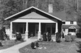 Cumberland Gap: street view of brick house