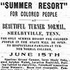 Summer Resort Ad