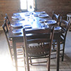 Dining Room at the Matt Gardner Homestead