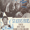 Sheet music cover for St Louis Blues
