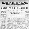 Nashville Globe Front Page