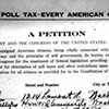 Poll tax petition