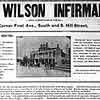 Wilson Infirmary in Nashville, an article from the Nashville Globe