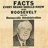 Facts every negro should know about Roosevelt