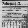 Wochenblatt der Tennessee Staatszeitung