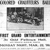 Chauffers Ball Ad