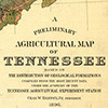 A preliminary agricultural map of Tennessee based on the distribution of geological formations