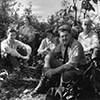 David Chapman and group of hikers