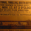Nashville Women's Equal Suffrage Banner at State Fairgrounds