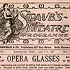 Staub's Theatre programme