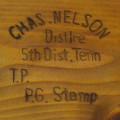 Nelson Distillery Stamp