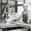 Volunteer Army Ammunition Plant wood shop workers