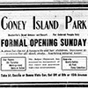 Ad for Coney Island Park, an African American Park in Nashville