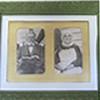 Historic photo in frame of Matt & Henrietta Gardner
